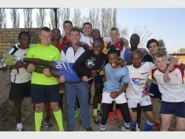 THE WESTERN WOLVES: This excited young team from the South might be seen as the underdogs but few can match their enthusiasm and team work. Front row: Nhlakanipho Mndiniso, Dean Moneron, (captain), Braam Pienaar (coach), Madibogo Mamanyaha, Adolf Mphahlele, Keith Foto, Justin Addendorf. Back: Sinqobile Zondi, Mitchell Hill, Tristan Bartlett, Thami Nkosi, Cameron Dunstone, Alliance Baganda and Shane Erasmus. Absent: Tristan Tymvious , Morena Ramabina and Martin Machubeni.