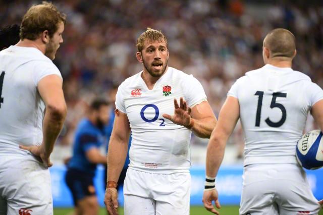 England captain Chris Robshaw - Photo : Nolwenn Le Gouic / Icon Sport / Corbis