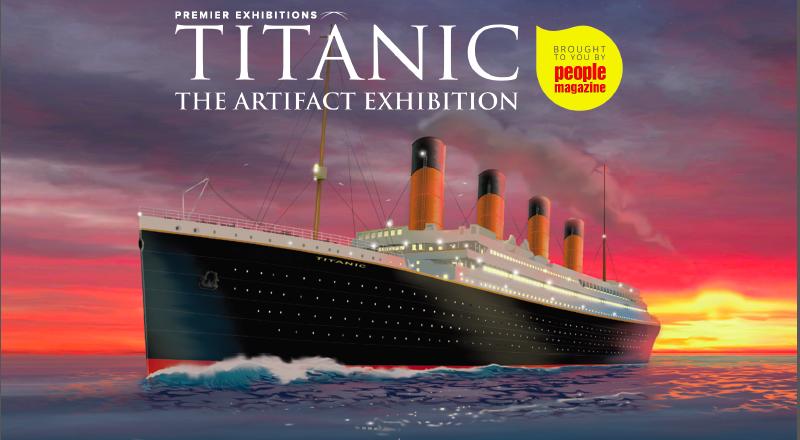 Titanic- The Artifact Exhibition promo logo