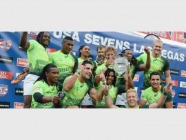 TEAM ACCOLADE: The Springbok Sevens won the Team of Year award.