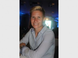 CAPTAIN FANTASTIC: SA women's soccer captain Janine van Wyk is the Gauteng Sports Personality of the Year.