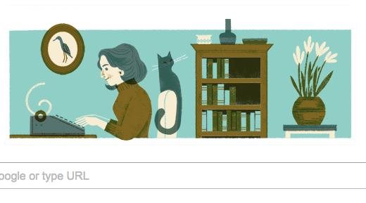 Google's Nadine Gordimer doodle