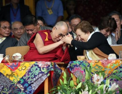 Nobel Laureates meet Tibetan spiritual leader the Dalai Lama