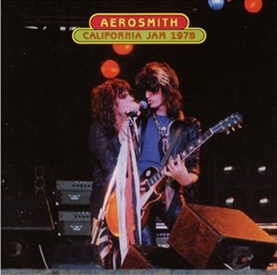 Aerosmith perform at California Jam 2 in 1978.