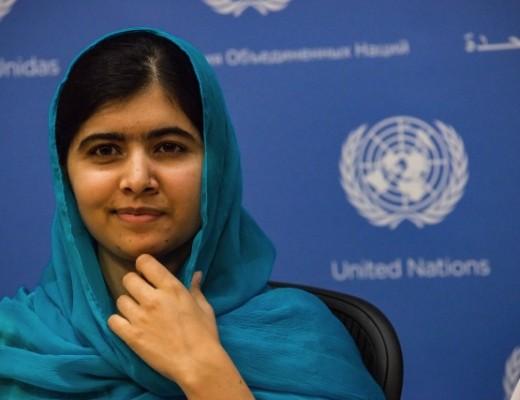 USA : Malala Yousafzai Press Conference