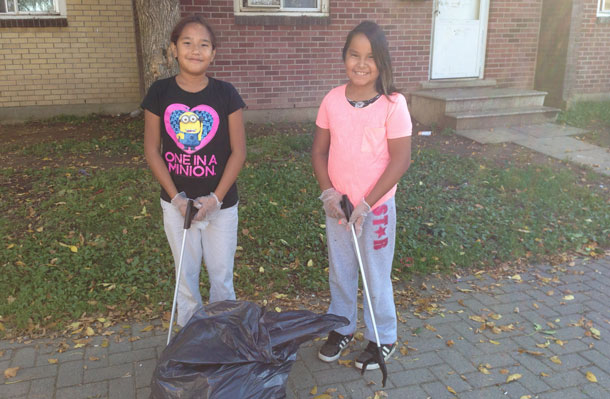 neighbourhood cleanup