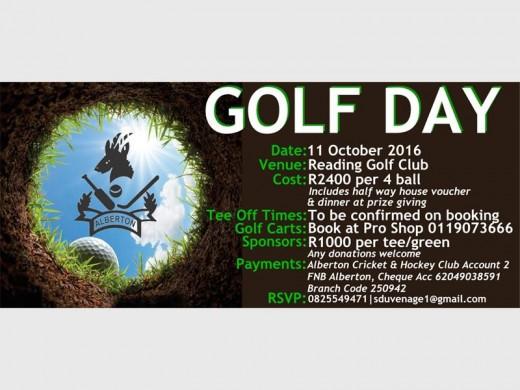 Golf day for fund-raising | Alberton Record
