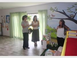 WENSPAN: Kim Kidson (opvoedkundige sielkundige), Lynn Steenkamp (direkteur) en Vanessa Sutton (hoof onderwyseres).