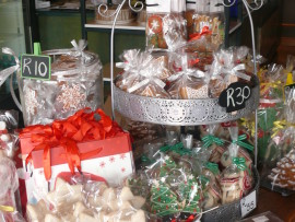 CHRISTMAS SWEET TREATS: Visit Cherubs where you'll find a delicious range of festive biscuits.