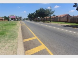 ROAD WIDENING PLANNED: The road entering Florentria from Verwoerdpark.