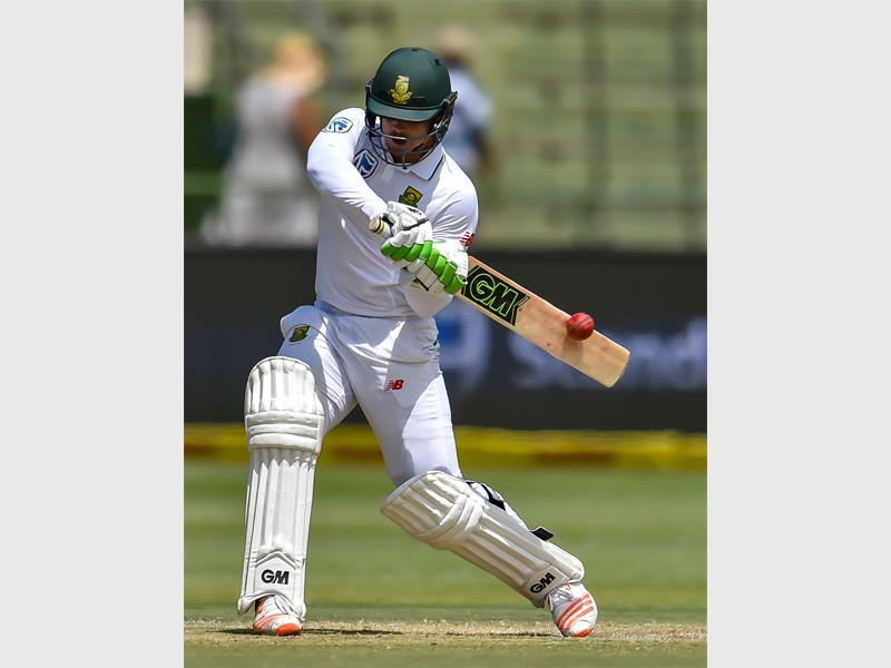 BALL ON BAT: Quinton de Kock, who performed well in the Sunfoil International series against Sri Lanka will be rested as the wicket keeper in the T20 series against Sri Lanka.   Photo: Gordon Arons