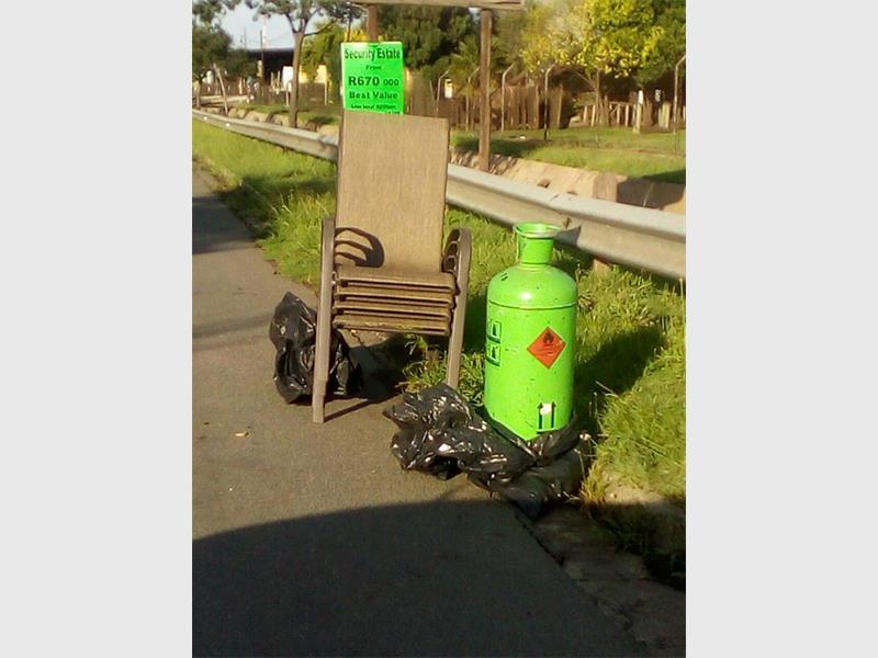 FOUND: Suspected stolen items found in Alrode.