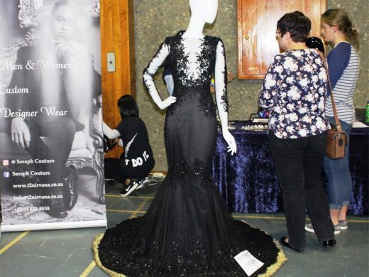 Gallery alberton high matric dance expo alberton record wow the seraph couture stall displayed this gorgeous number for all to admire thecheapjerseys Choice Image