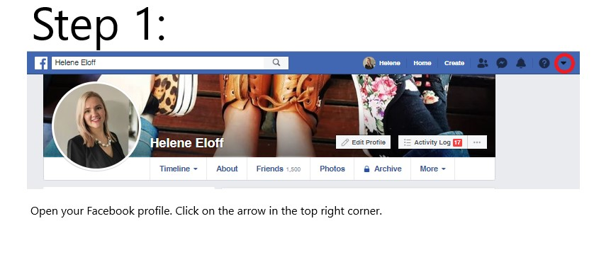 Nine steps towards a more private Facebook account
