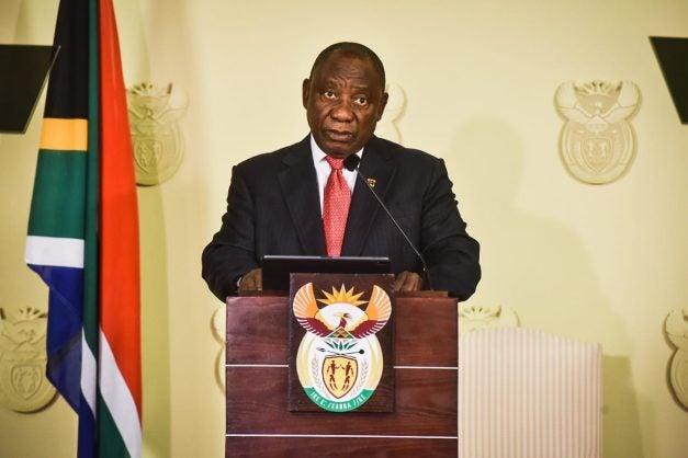 SA President Ramaphosa Coronavirus A National Disaster