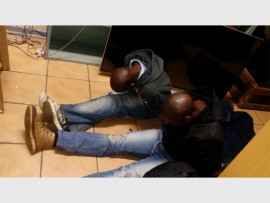 CAUGHT: Two suspects were arrested for possession of stolen goods and are still in custody.