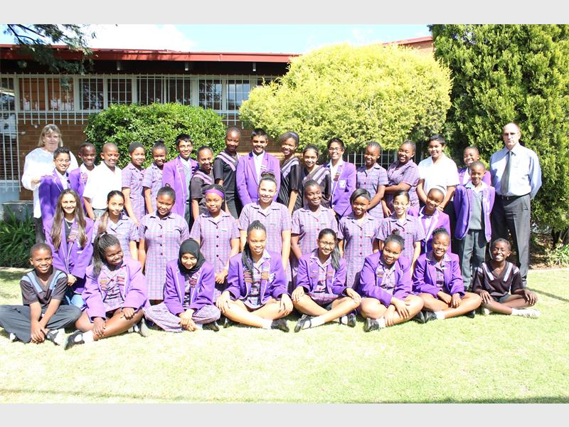 Winchester Ridge Primary School prefects