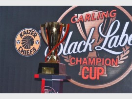 UP FOR GRABS: A whole new crop of players are up for selection in the Kaizer Chiefs team in order to win the Carling Black Label trophy.