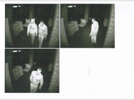 SUSPECTS: ADT security and SAPS rushed to the scene when an alarm went off and could use your help to identify these men who broke into a La Rochelle business on June 24.