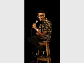 LAUGH OUT LOUD: Bongani Dube will knock your socks off with his impeccable charm and sense of humour.