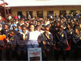 AWARENESS: Antoinette Mbenenge wants to put the South on the map with her drug awareness presentation.