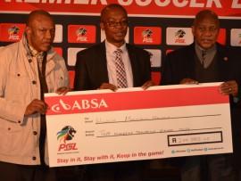 PSl Irvin Khoze, Johannesburg Mayor Parks Tau and Madladla from PSL honours Winnie Mandela on her birthday.