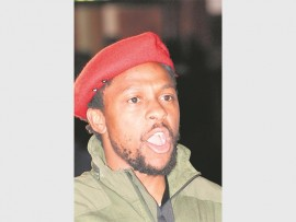 EFF SPOKESPERSON: Mbuyiseni Ndlozi explained that although the EFF councillors voted with the DA, they are not in governance with the DA and no budget will pass without reflecting on how it will benefit the poor.