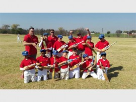 WINNERS: The Waterstone College under 13 boys cricket team.