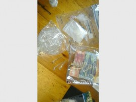 ILLEGAL STUFF: Drugs and money were found at a premises in Forest Hill during a recent operation.