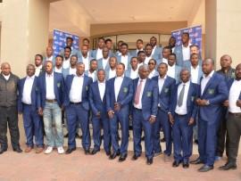 Baroka FC team and management.