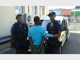 BUST: Cst Justice Mthembu and Cst Magic Mtombela from the Johannesburg Technical Response Team reacted quickly to a lead and made an arrest.