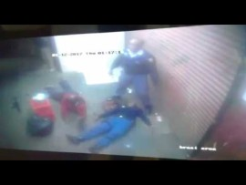 """WATCH: Police officer dies after """"friendly fire"""""""