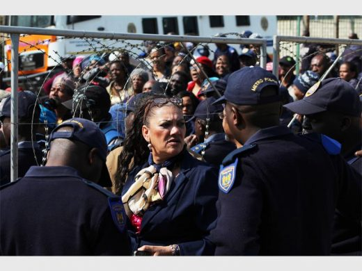 WATCH: Chaos at key handover ceremony at South Hills