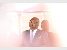 PLEASED: Gauteng Premier David Makhura.