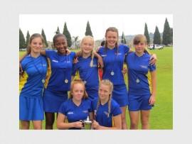 WELL DONE; Waterstone College u.13 netball winners.