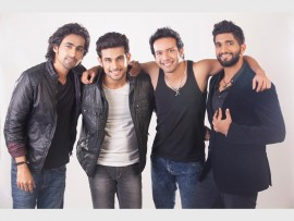 SANAM: The pop-rock boy band from India is making its way to South Africa.
