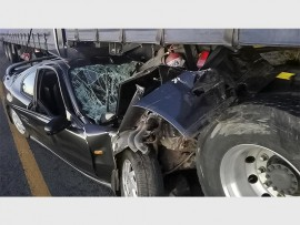 THE ACCIDENT: The man sustained serious injuries.