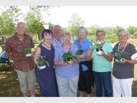 GARDENERS: Rob Jones, Anne du Plessis, Rob Winter, Wendy Winter, Jenny Richardson, Bess van Staden and Leonarda Jones.