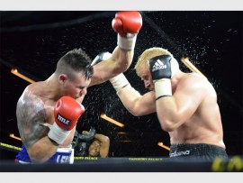 TO FIGHT FOR: Cruiser weight Kevin Lerena fought Micki Nielsen at the end of 2016 will have to show his class against Namibia's Vikapita Meroro to move onto his next venture. Photo: Annette van Schalkwyk