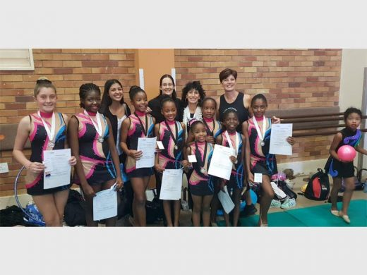 4fe9db042fb7 Elite Rhythmic gymnasts do well at competition | Comaro Chronicle
