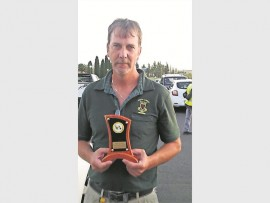 Rodney Brown won referee of the tournament award at the South African Eight Ball Pool championship held in Secunda.