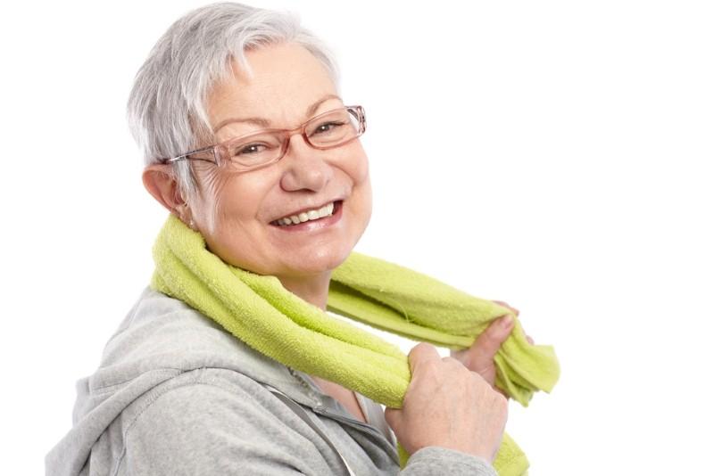 healthy lady