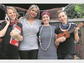 Karen Logan, Allison Ekstrand, Tanith King and  Kasia Vosloo.