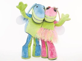 Lollo and his best friend Lettie will be visiting Durban to entertain children