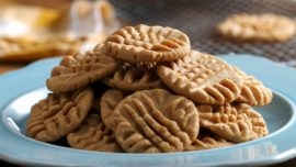 Make your own peanut butter cookies
