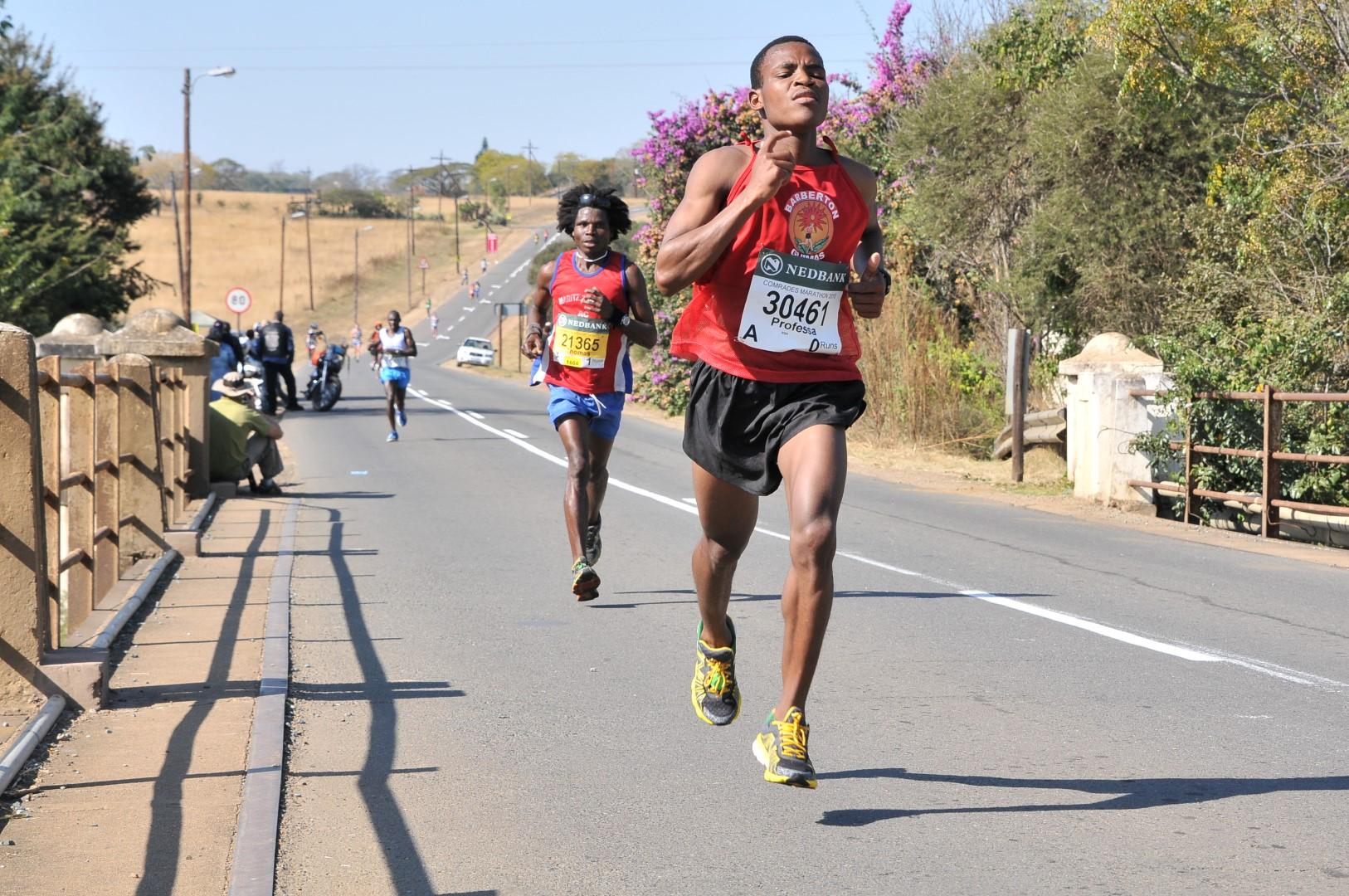 21-Year old Barbertonian excel in ultra-marathons ...