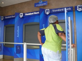 Standard Bank ATMs have not been in operational since September 26.