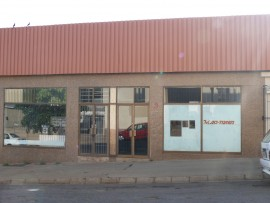 The building from where Mayibuye Cash Loans operated.