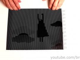 Optical illusion: Rabbit or duck?
