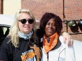 Karen Zoid and Lindiwe Ngwenya from GRIP.